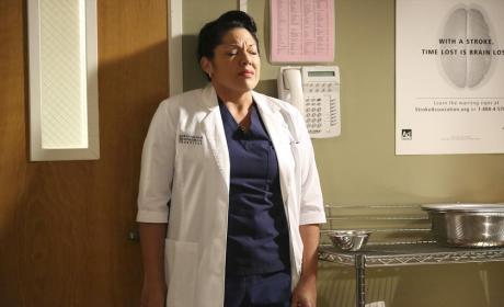 Poor Callie - Grey's Anatomy