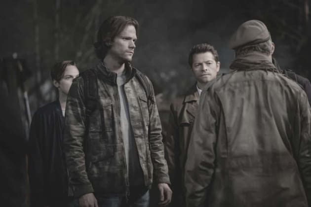 The Fight With Michael - Supernatural Season 13 Episode 22