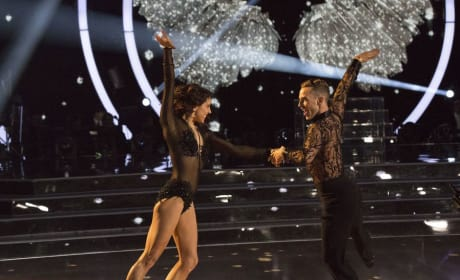 Adam Rippon and Jenna Johnson - Dancing With the Stars: Athletes Season 26 Episode 1