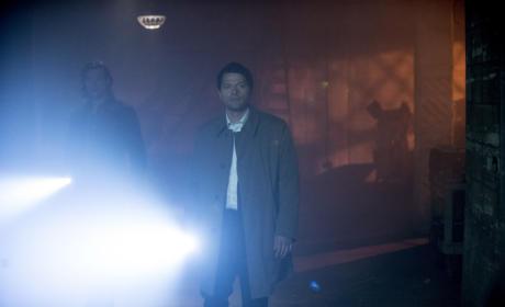 Sam and Castiel Search