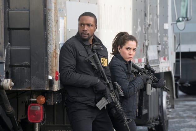 Reade And Zapata Armed and Ready - Blindspot Season 2 Episode 15