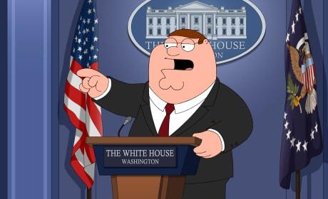 The New Press Secretary - Family Guy