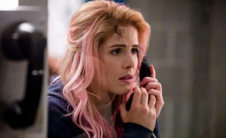 Pink Hair - Arrow Season 7 Episode 1