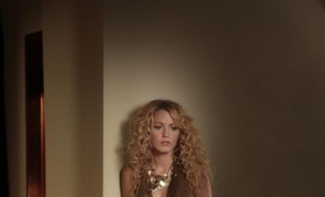 Serena, Curly Hair