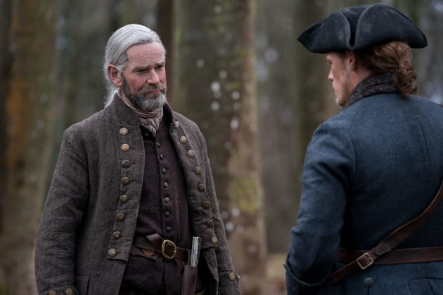 Murtagh and Jamie - Outlander Season 4 Episode 9