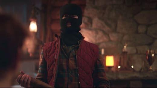 Fake Out Black Hood  - Riverdale