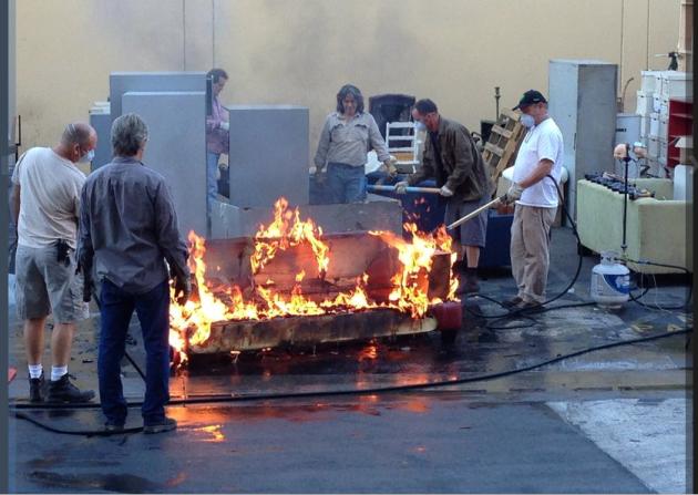 "Behind the Scenes ""Under Fire"" - Castle Season 6 Episode 11"