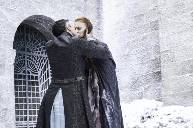 A Kiss for Sansa