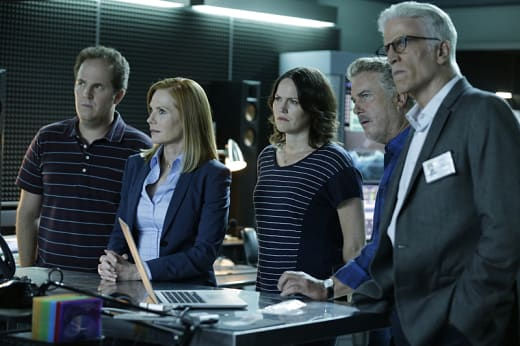 Grissom and Willows Return - CSI