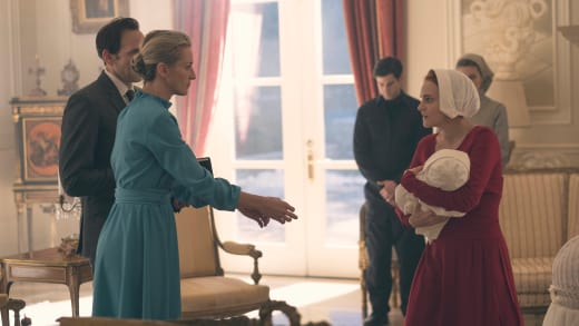 Janine Hands Over Her Baby - The Handmaid's Tale Season 1 Episode 9