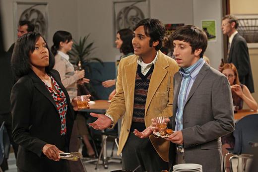 Regina King on The Big Bang Theory