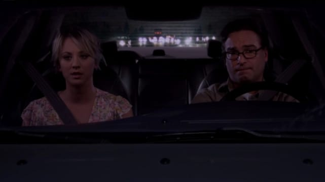 Leonard and Penny Elope - The Big Bang Theory
