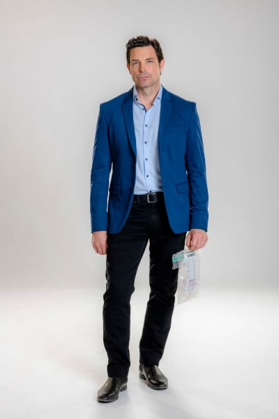 Brennan Elliott Blue Blazer