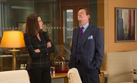 Return of Colin Sweeney  - The Good Wife Season 6 Episode 13