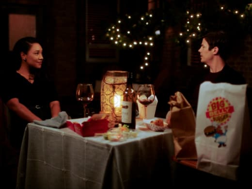 Barry and Iris - The Flash Season 7 Episode 1