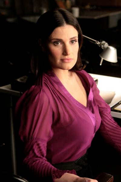 Idina Menzel on Glee