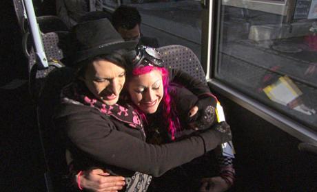 Kent and Vyxsin Hug