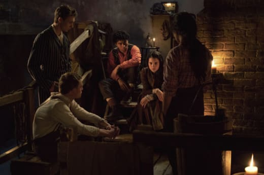The Irregulars Cast