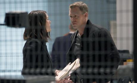 Liz and Ressler have a talk - The Blacklist Season 4 Episode 6