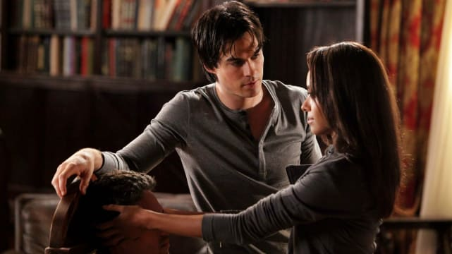 Bonnie and Damon - The Vampire Diaries
