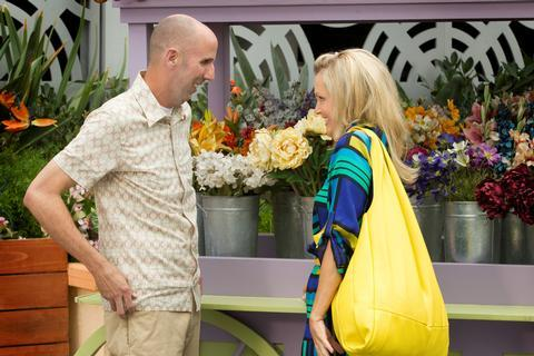 Ali Wentworth on Cougar Town