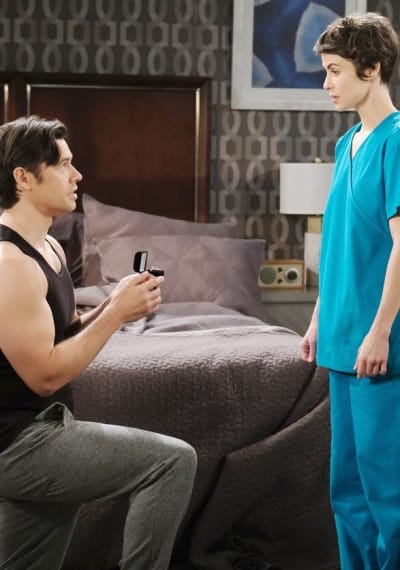 Xander Proposes to Sarah/Tall - Days of Our Lives