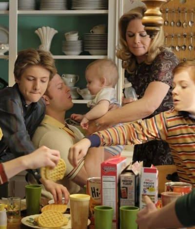 Kids Are Alright - Breakfast Scene