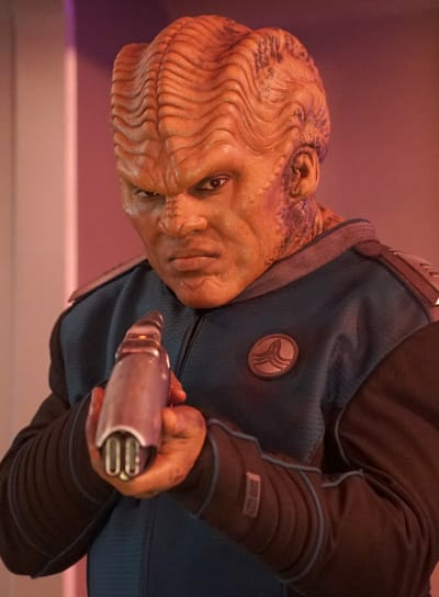 Bortus Abides - The Orville Season 2 Episode 14