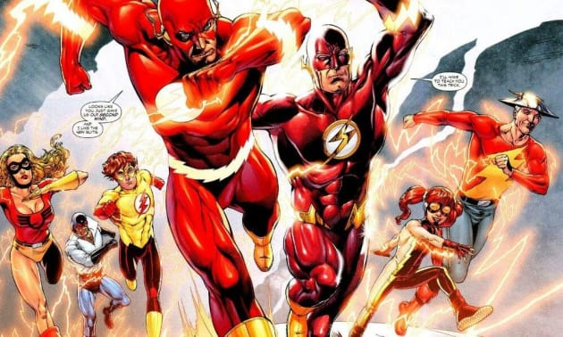 Flash Family - The Flash