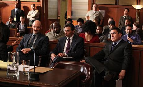 Law & Order Courtroom Scene