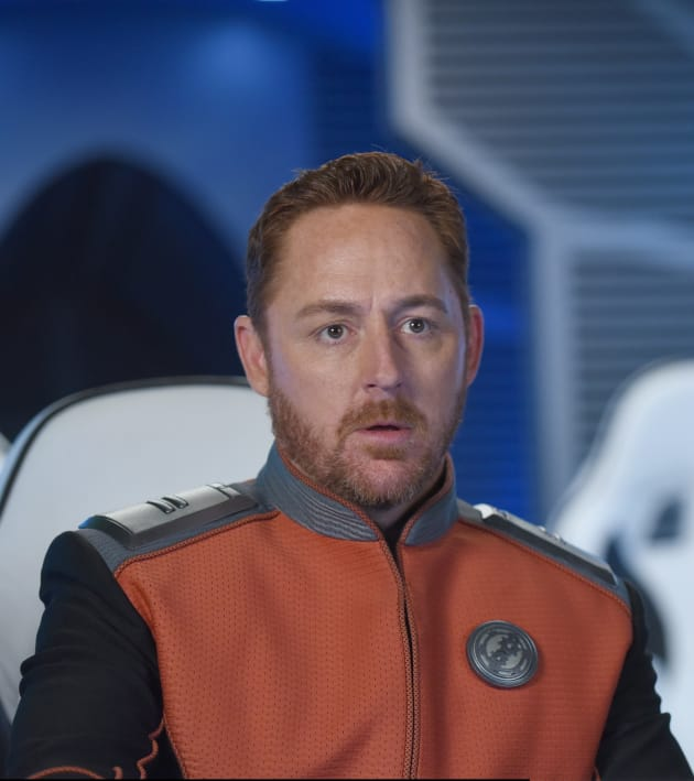 Malloy Close Up - The Orville Season 2 Episode 4