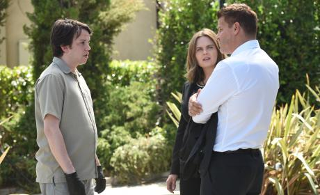 Does Zack Hate Booth? - Bones Season 12 Episode 1