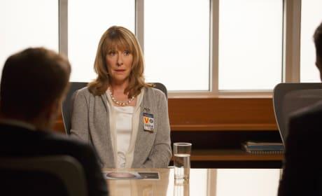 Sandra Zins (Phyllis Logan) is Brought to the FBI for Questioning - Bones Season 10 Episode 6