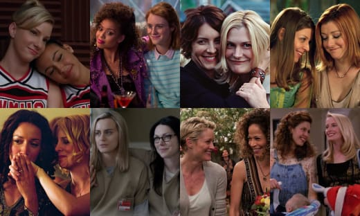 TV Lesbians - Glee