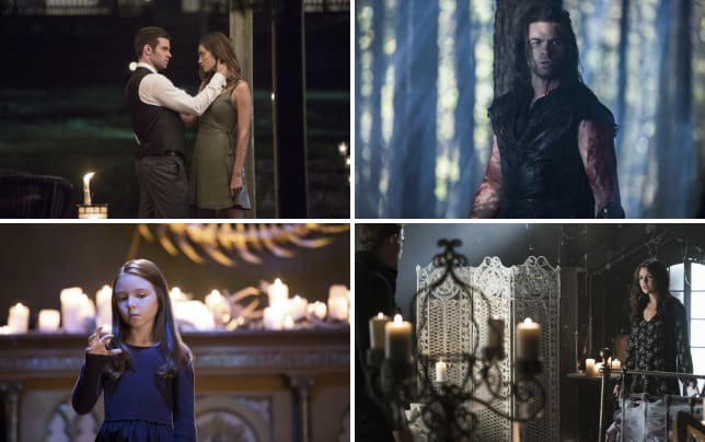 Haylijah is back the originals s4e3