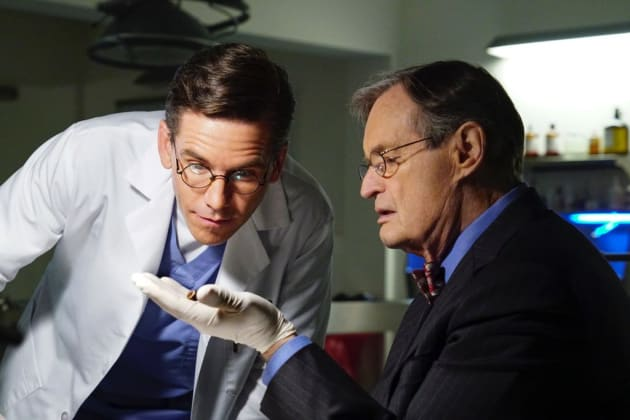 Ducky and Jimmy Examine Evidence - NCIS Season 15 Episode 17