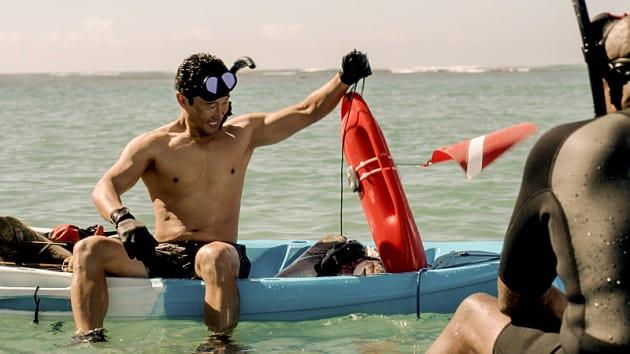 Chin Ho Takes a Dive