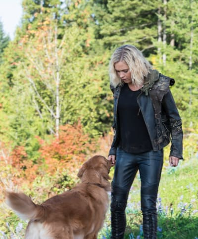 Clarke and Picasso - The 100 Season 6 Episode 3