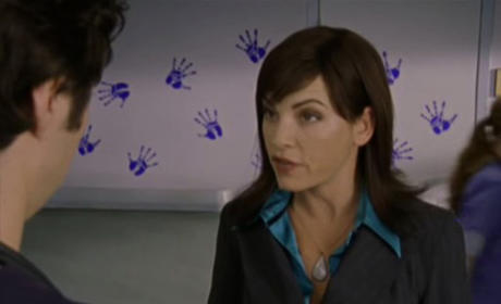 Julianna Margulies on Scrubs