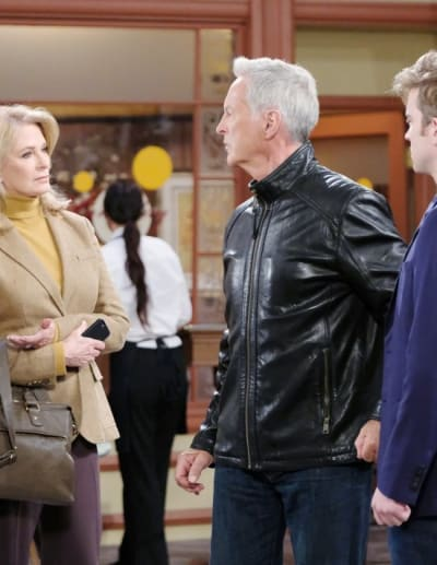 Whose Side Is He On? - Days of Our Lives