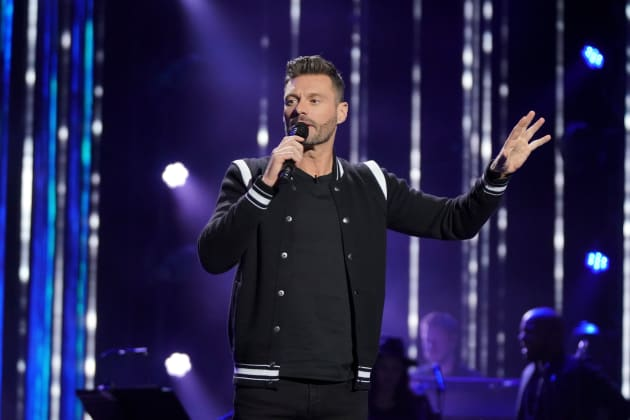 Ryan Seacrest on Idol - American Idol