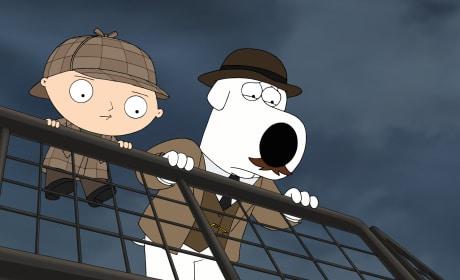Victorian Era Detectives - Family Guy