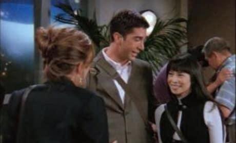 Ross's New Girlfriend