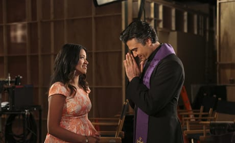 Father Rogelio??? - Jane the Virgin Season 1 Episode 11