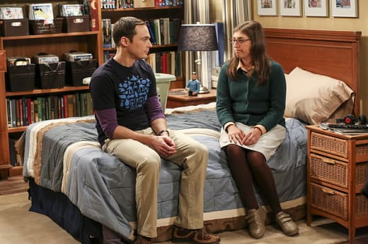 Amy's Experiment - The Big Bang Theory