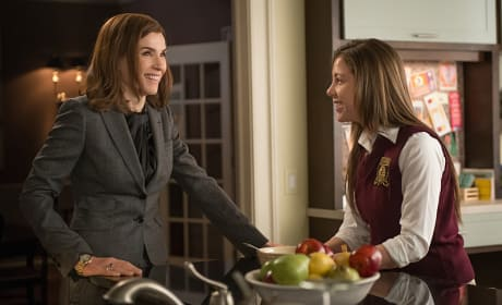 Is That a Smile? - The Good Wife