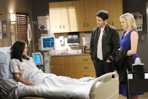 Facing Off With Jan - Days of Our Lives