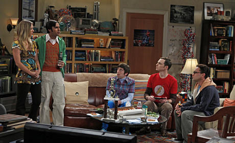 Big Bang Theory Premiere Scene