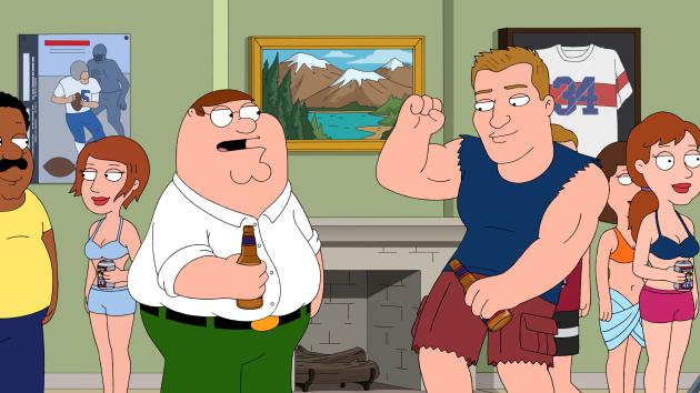 Rob Gronkowski of the New England Patriots - Family Guy