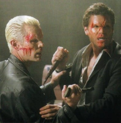 Angel vs. Spike - Buffy the Vampire Slayer